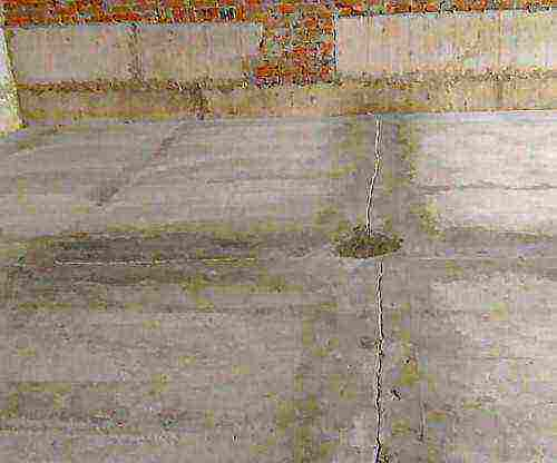 бетон трескается при высыхании