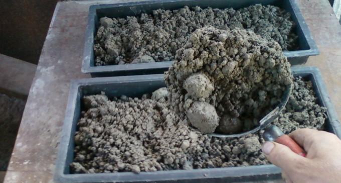 Изготовление бетонной смеси
