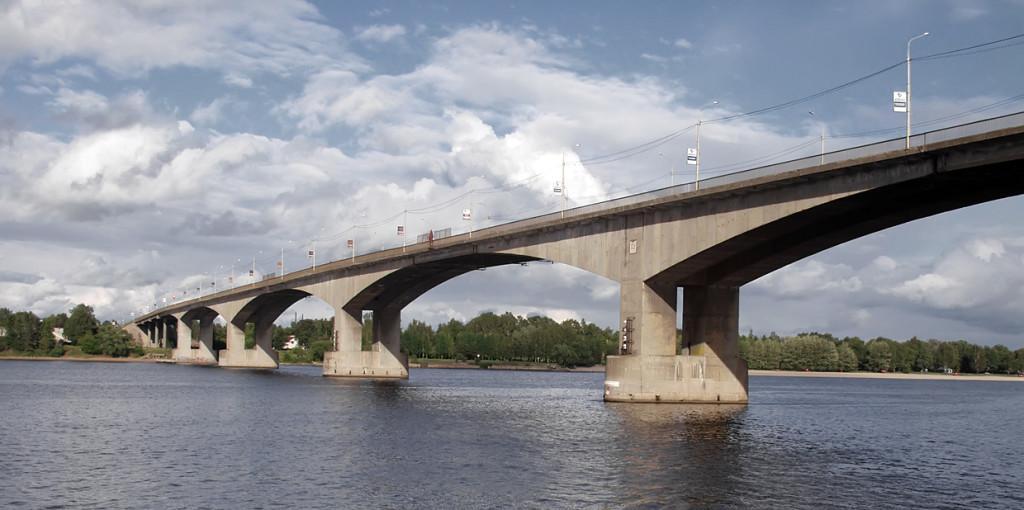 бетонный мост
