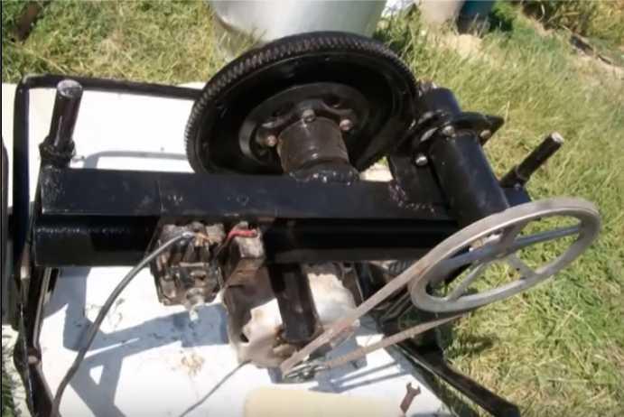 Мотор установлен
