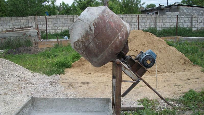 бетономешалки российского производства