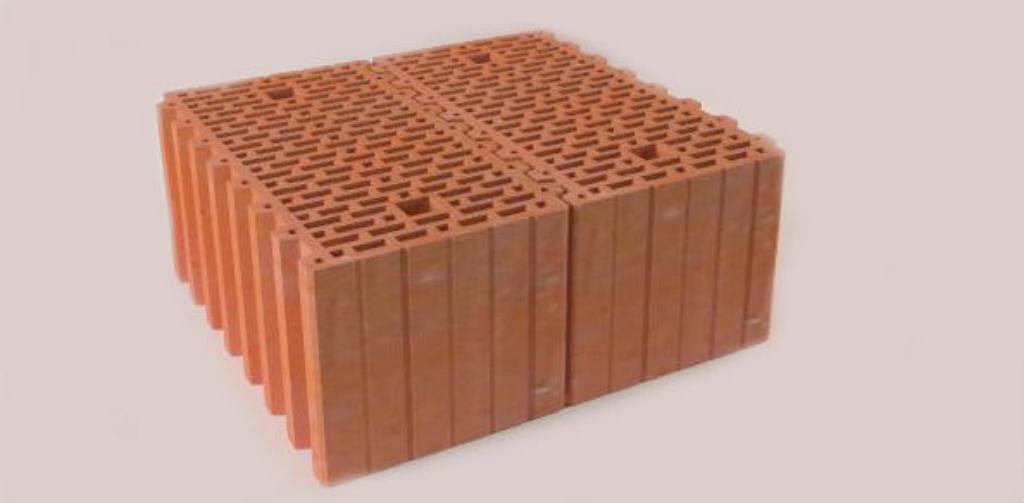 Керамический строительный блок