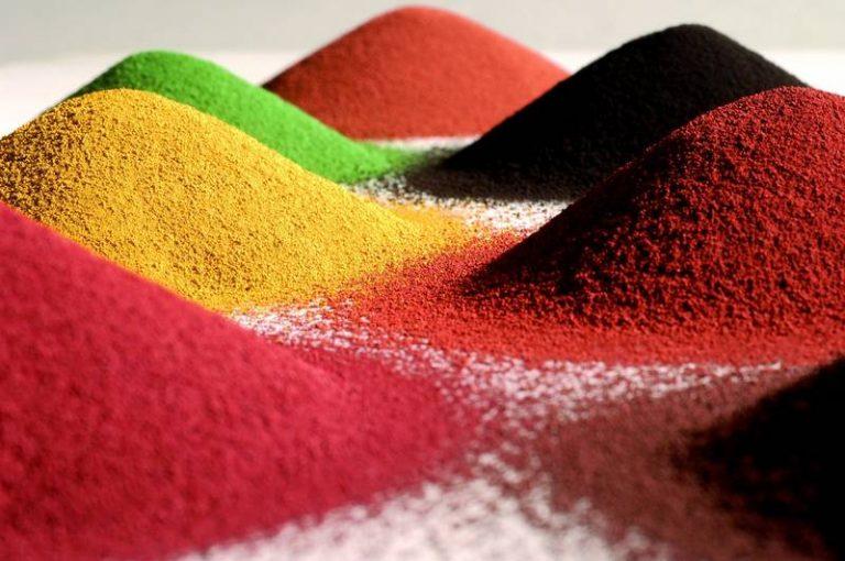 Цветные пигменты для бетона