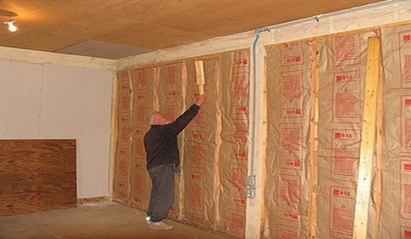 Внутреннее и наружное утепление стен из газобетона – инструкция