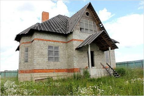 Дом из керамзитоблоков