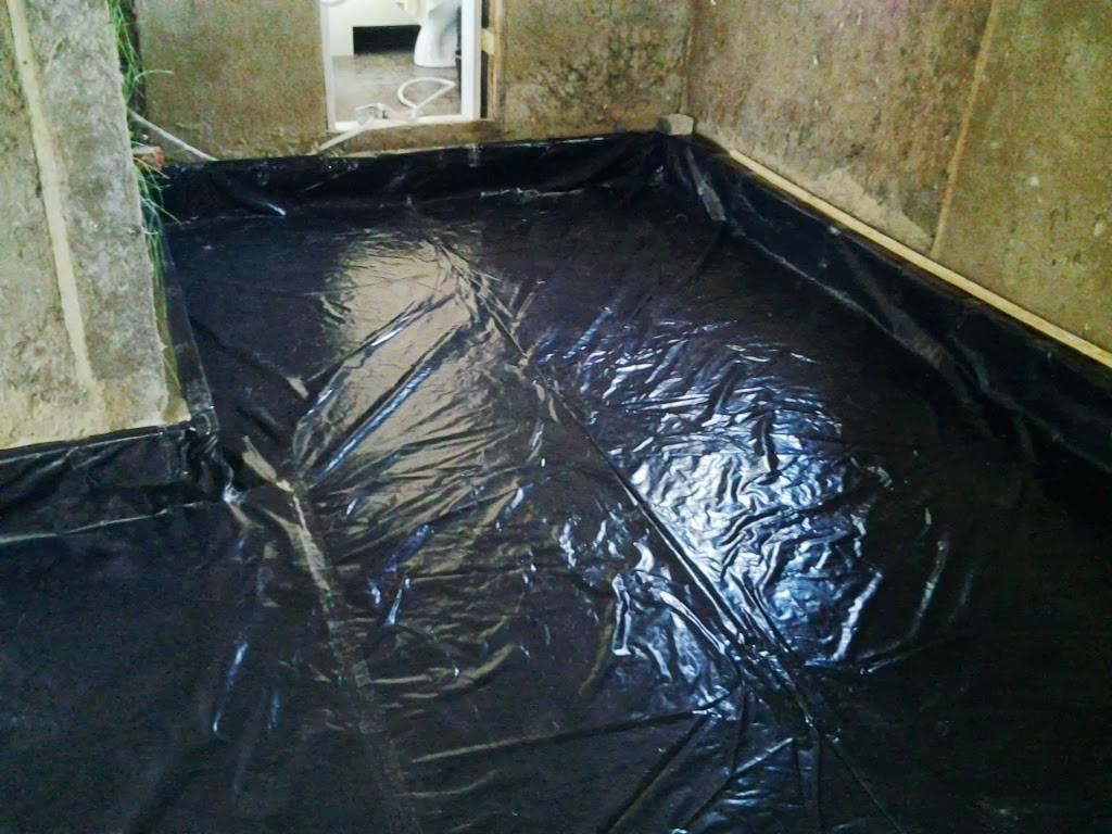 Гидроизоляция под бетонный пол