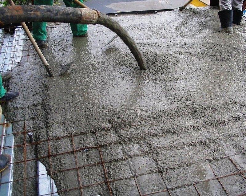 Готовая сухая бетонная смесь