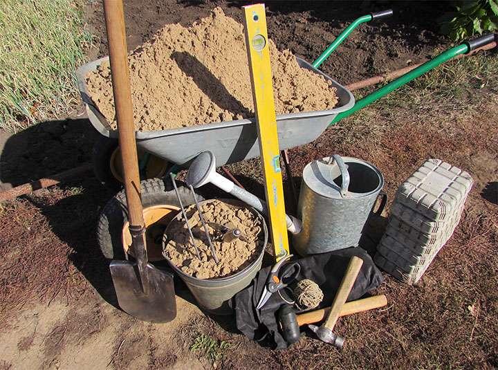Инструменты и материалы для бетонных работ