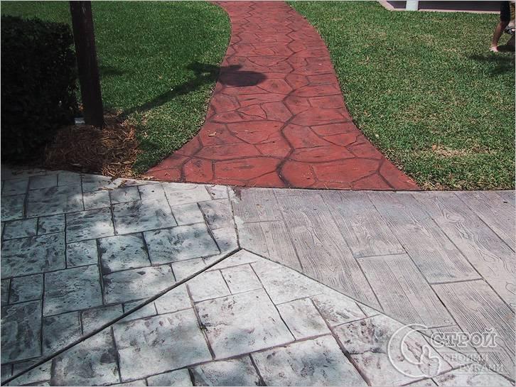Используют для изготовления тротуарной плитки