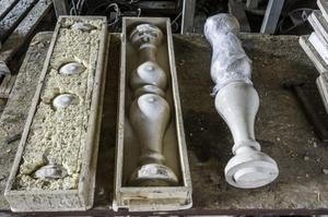 Изготовление скульптуры из бетона