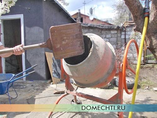 Технология заливки бетона - подготовка раствора