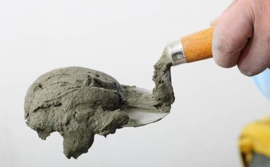 как развести цемент с песком