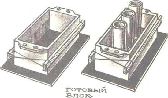 Форма для кирпича