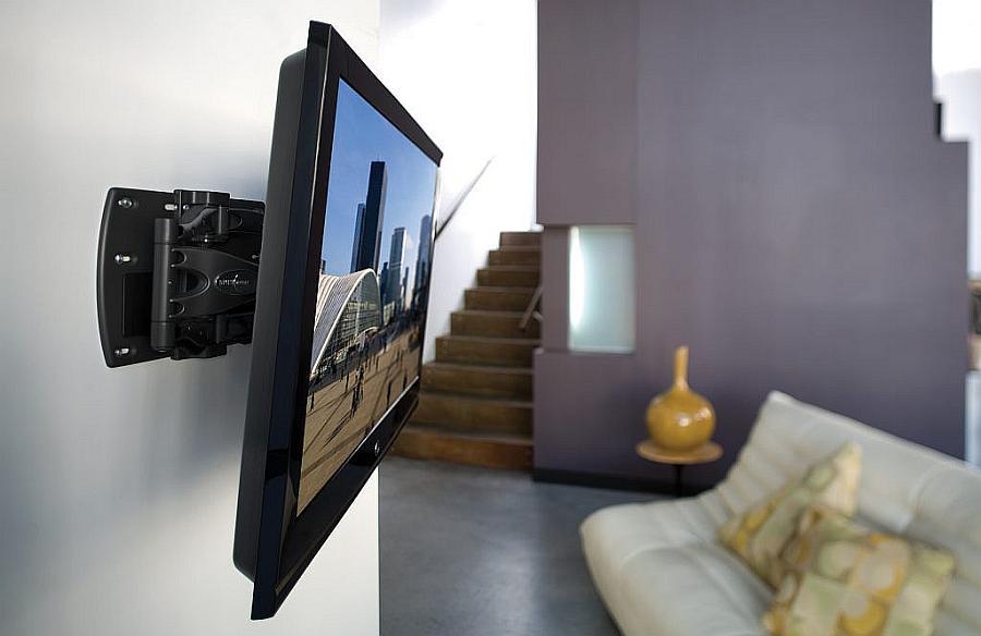 Крепление телевизора на стену из газобетона
