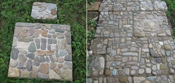Плитка с камнями