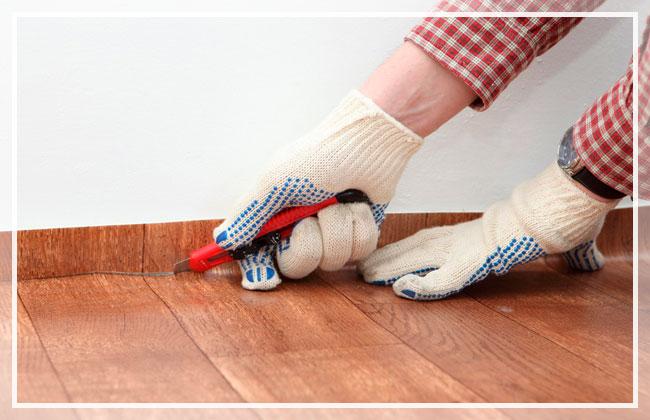 На бетонный пол без клея