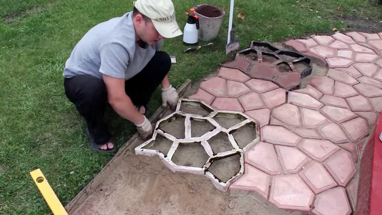 использованиеформы для плитки