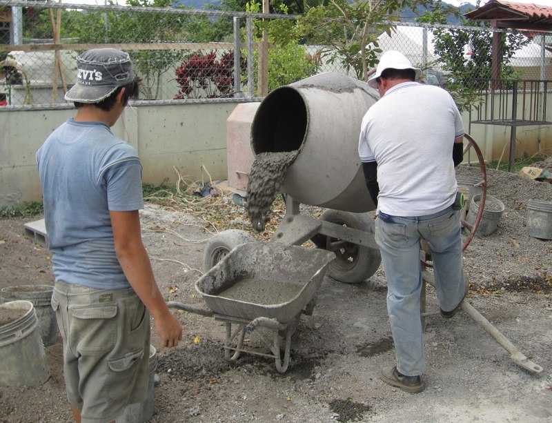 Огнеупорный бетон своими руками