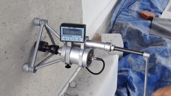 Испытание бетона методом отрыва со скалыванием