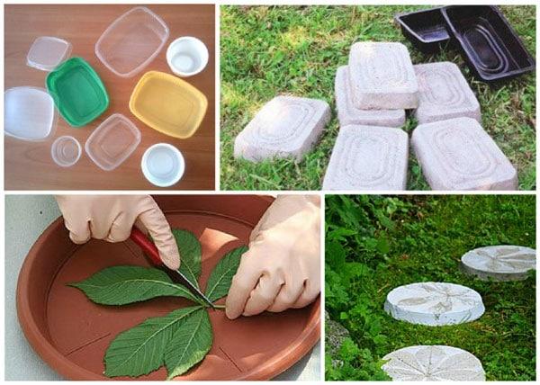 Формы из пластика для плитки