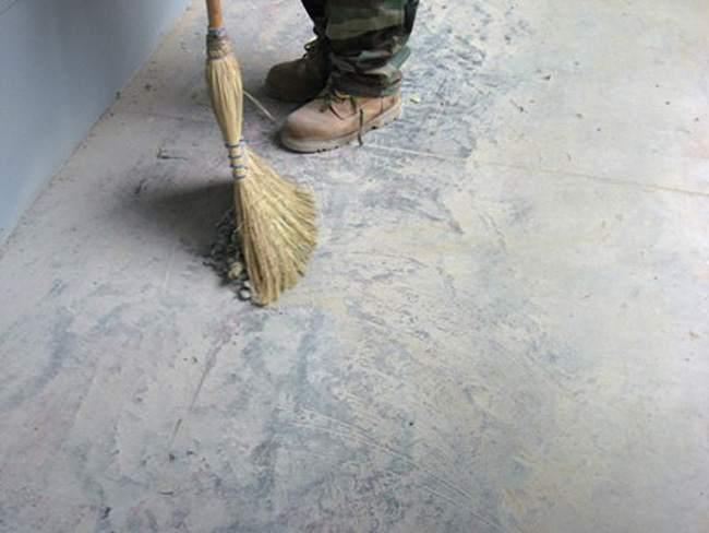 Готовим бетонный пол к ремонту