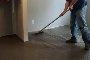 Полировка бетонного пола