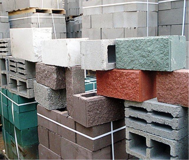 Разные виды блоков