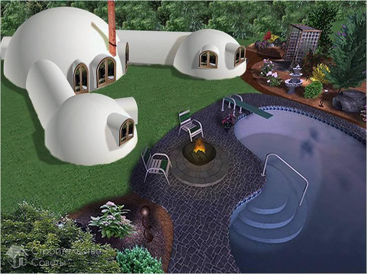 Проект купольного дома