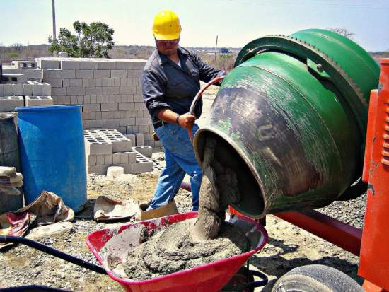 развести цемент пропорции