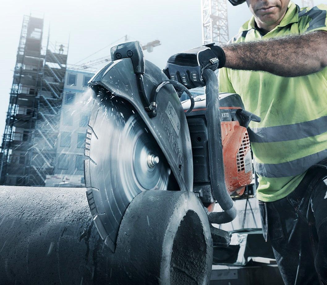 Инструменты для ручной резки бетона.