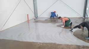 Чем смазывать бетонный пол