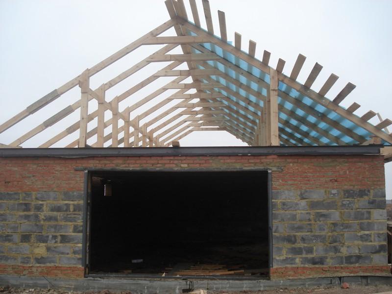 Создание крыши для гаража своими руками