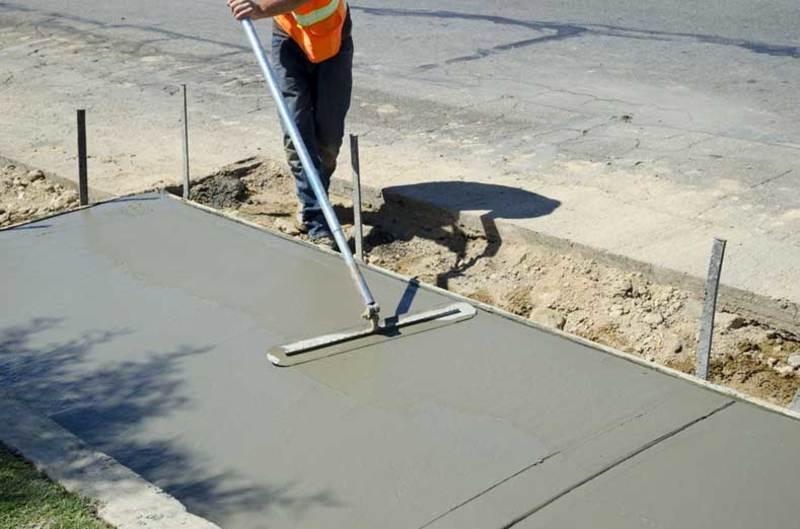 Создание гладкого бетонного пола своими руками