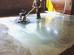 Способы сделать бетонный пол гладким