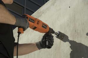 Чем сверлить бетон