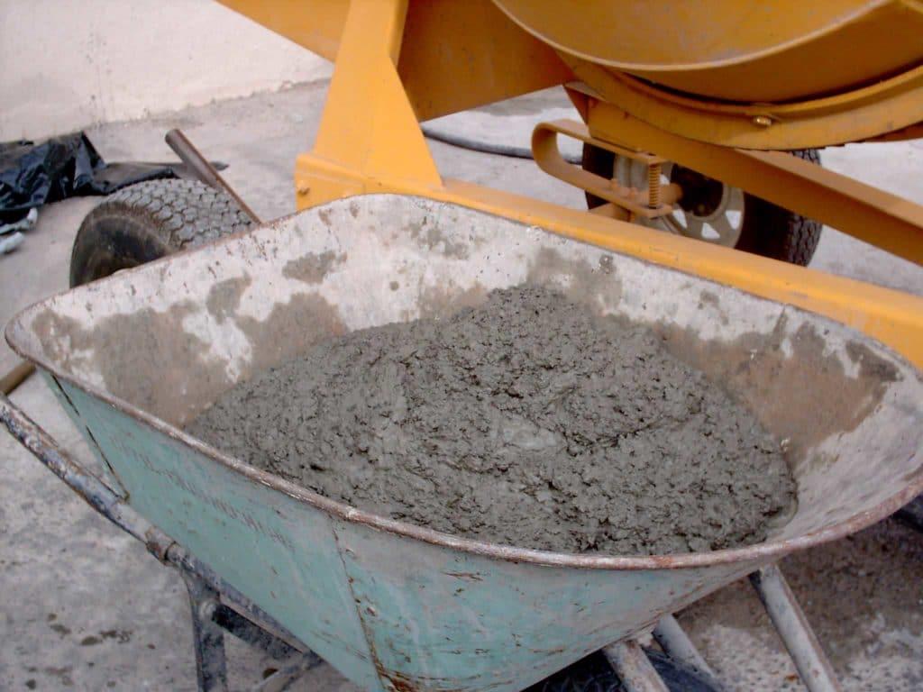Песчано-цементный раствор