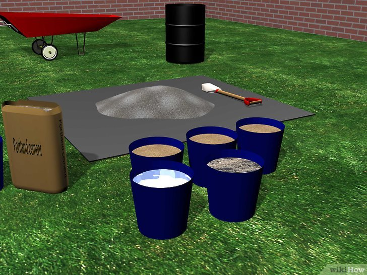 Изображение с названием Mix Portland Mortar Step 2