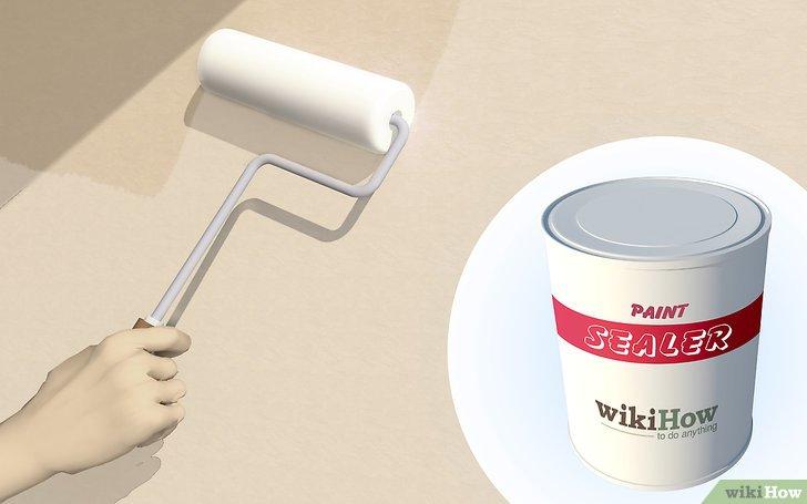 Изображение с названием Paint a Concrete Wall Step 8