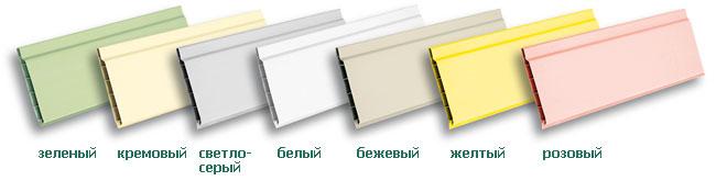 Панели пластиковые независимо от наружной расцветки и тона производители выпускают следующих размеров: • длиной — 2,6; 2,7 и 3 м. • шириной от 0,15 до 0,50 м • толщиной — 6,8,9 и 10 мм.