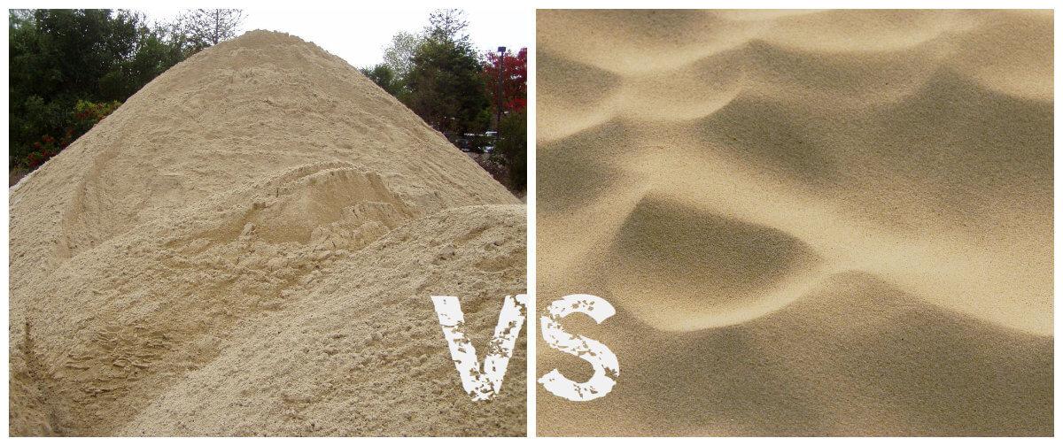 речной или карьерный песок