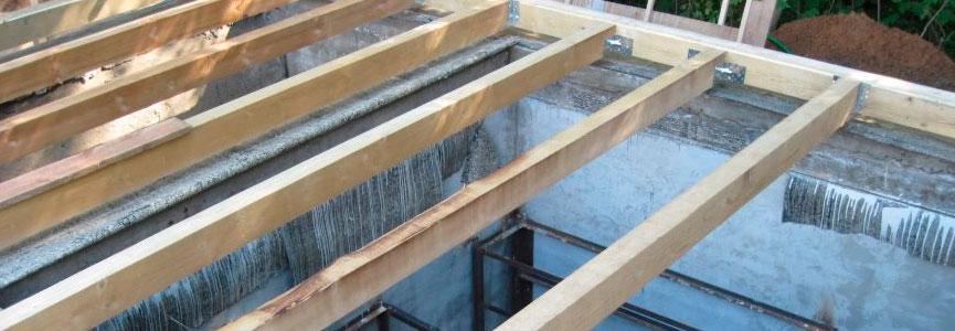 Монтаж деревянных полов и перекрытий