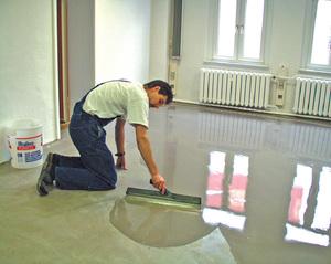 Заливка и полировка бетонного пола