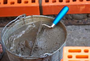 Замес бетона в30