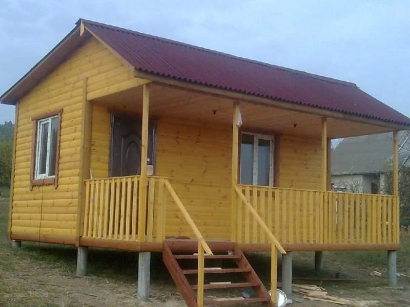 Дом на сваях может устанавливаться на разных почвах