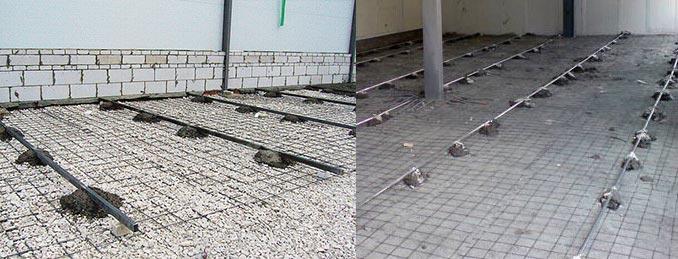 Маяки для бетонных полов