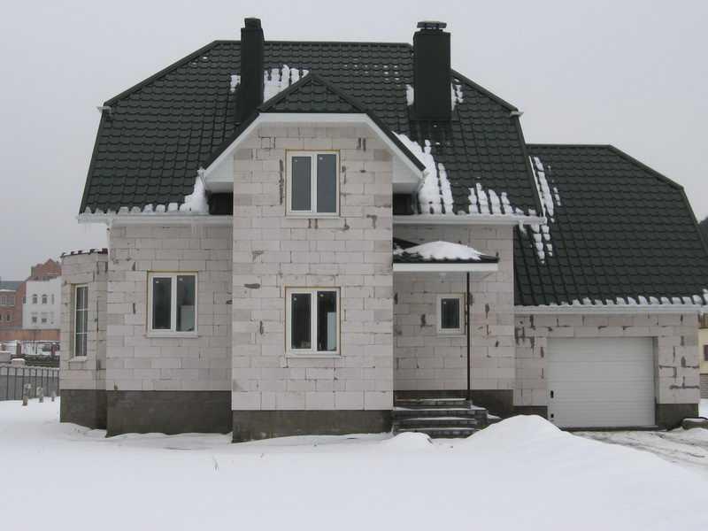 Какой нужен фундамент для дома из газобетона решают в зависимости от грунтов на участке