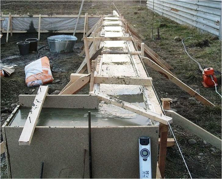 строительство гаража из керамзитобетонных блоков своими руками