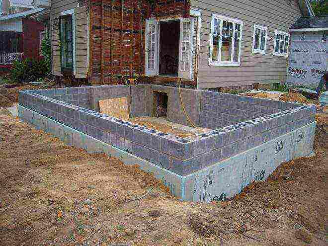 как правильно заливать фундамент под дом своими руками под пеноблок