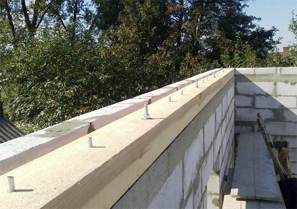 мауэрлат при строительстве крыши гаража