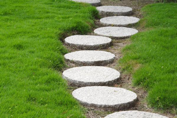 Островная форма садрвой дорожки